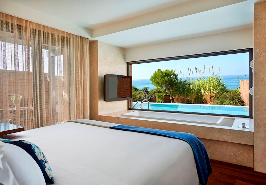 Ionian Exclusive Grand Infinity Sea Suites - Bedroom
